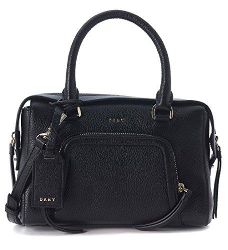 sac-a-main-dkny-chelsea-vintage-en-peau-noire