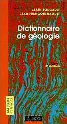 Dictionnaire de géologie, 5e édition