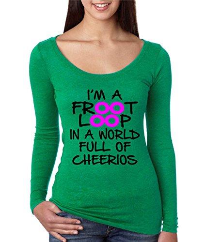 allntrends-womens-shirt-im-a-froot-loop-cool-funny-shirt-l-envy-green