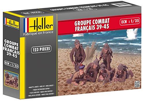Heller - 81224 - Groupe Français 39-45 - 123 Pièces - Echelle 1/35