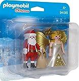 PLAYMOBIL 9498 Spielzeug-Duo Pack Weihnachtsmann und Engel, Unisex-Kinder