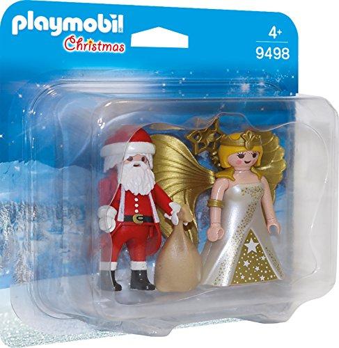 PLAYMOBIL- Duo Pack Papá Noel con Ángel Juguete