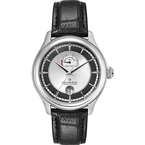 Dreyfuss & Co Watches dgs00110/04–Orologio da uomo, cinturino in pelle colore nero