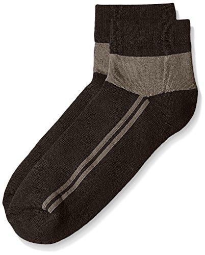 Lakomfort Men's socks (LK-11030_Black)  available at amazon for Rs.76