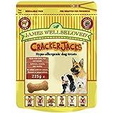 James Wellbeloved Crackerjacks Dog Treats Lamb 225 g