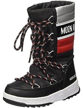 Moon Boot Quilted Jr Wp, Botas de Nieve Unisex Niños