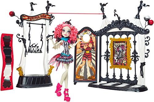 Mattel Monster High Freak du Chic Circus Scaregrounds & Rochelle Goyle Doll - muñecas (Multicolor, Indonesia)