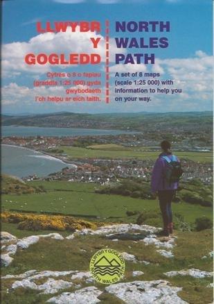 Llwybr y Gogledd/ North Wales Path: Cyfres o 8 o Fapiau Gyda Gwybodaeth i'ch Helpu ar Eich Taith/A Set of 8 Maps with Information to Help You on Your Way by Conwy County Borough Council (1997-05-06)