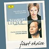 Schubert:Lieder With Orchestra [Import allemand]