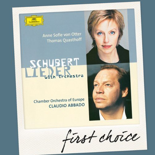 Schubert:Lieder With Orchestra [Import allemand]