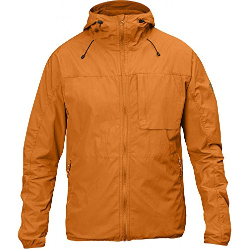 Fjällräven Herren High Coast Wind Jacket Anorak, Seashell Orange, L