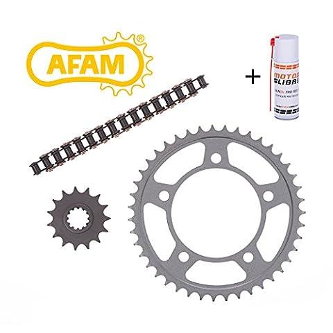 AFAM Motorrad Kettensatz Kreidler Supermoto 125 DD (Scheibenbremse) (offen) 2013-2015