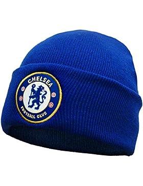 Chelsea FC - Gorro básico oficial de punto - Para niños - Con el escudo del club