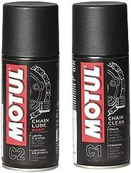 Motul Chain Lube and Clean Combo (150ml)