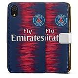DeinDesign Apple iPhone XR Étui Étui Folio Étui magnétique Paris Saint Germain...