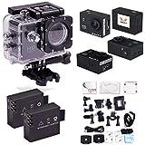 SAVFY® SJ4000 Fotocamera per Sport/ Videocamera Sportiva 1080P con LCD Schermo di 1