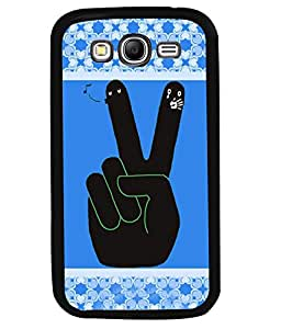 PRINTVISA V for Victry Premium Metallic Insert Back Case Cover for Samsung Galaxy Grand Neo - I9060I - D5927