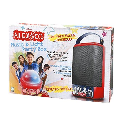 Giochi Preziosi Karaokemaschine Alex & Co Canta Tu Speaker Party Box Bluetooth-Gerät Party-Box