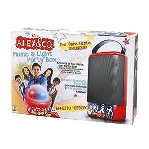 Giochi Preziosi-Alex & Co Canta Tu Speaker Party Box con Dispositivo Bluetooth No aplicable Medium