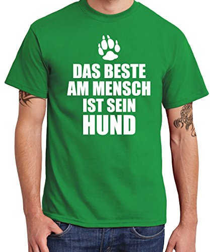 ::: DAS BESTE AM MENSCH ::: Boys T-Shirt Kelly Green