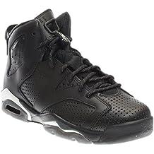 Nike AIR Jordan 6 Retro BG (GS) 'Black Cat' - 384665-