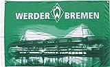"""Werder Bremen Hissfahne / Fahne """"Stadion"""" incl. Ösen"""