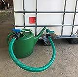Flexibler Befüllschlauch mit Absperrhahn für IBC Tank