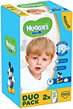 Huggies - Bimbo - Pañales - Talla 4 (7 - 14 kg) - 2 x 50 pañales