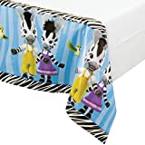 Creative Converting Bordure Impression Plastique Housse de Table, Zou