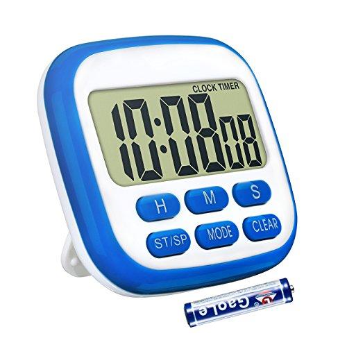 Topop, timer digitale elettronico e orologio LCD