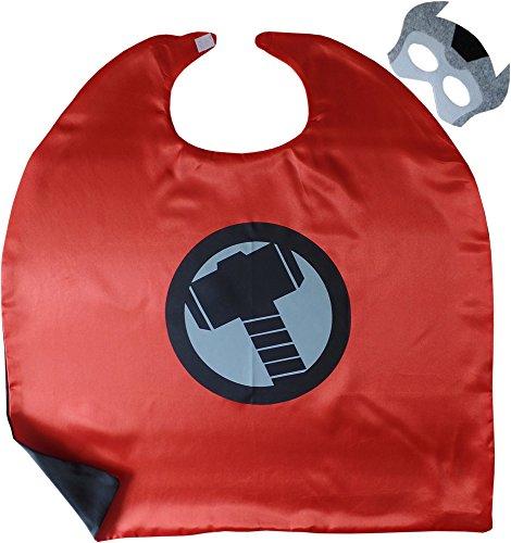 Avengers Thor Kindes Umhang & Maske (Sie Thor Kostüme)