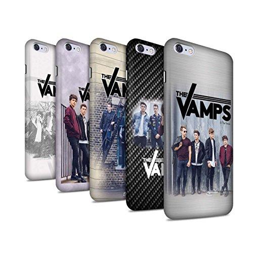 Officiel The Vamps Coque / Clipser Matte Etui pour Apple iPhone 6S+/Plus / Pack 6pcs Design / The Vamps Séance Photo Collection Pack 6pcs