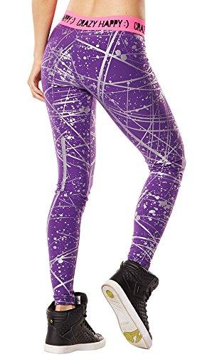 Zumba Fitness Hyper Melt Legging Femme Violet