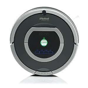 iRobot Roomba 780 Aspirateur Robot, performances d'aspiration élevées, nettoyage sur programmation, enlève les poils d'animaux, gris foncé