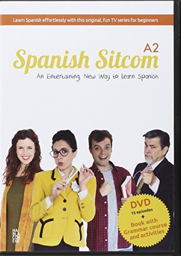 Spanish Sitcom A2: Curso de español con video
