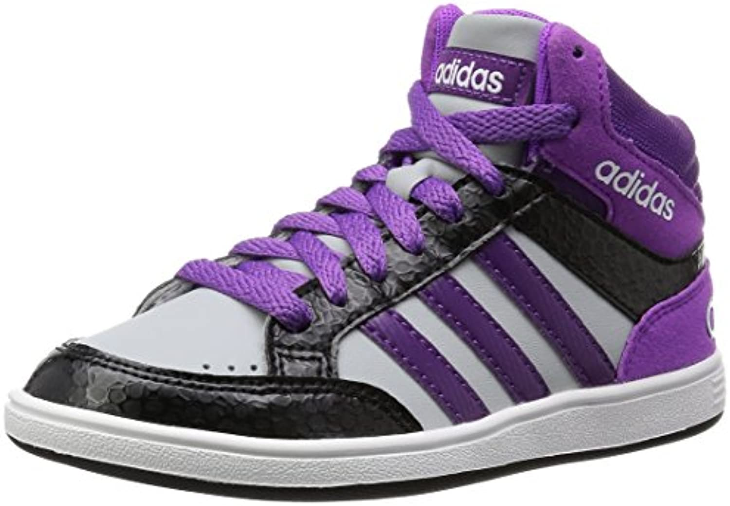 info for e23d7 16514 adidas hoops mi k aw5130 couleur  noir violet blanc taille  taille  taille   5,0 0db102