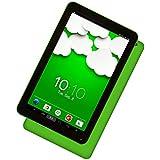 Woxter QX 1208GB black, green tablette–Tablets (1,5GHz, Arm Cortex-A7, 1Go, DDR3-SDRAM, 8Go, MicroSD (Transflash))