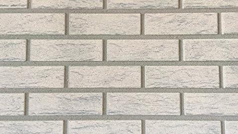 Wandverkleidung in Steinoptik als Wandstein für Ihre Wand I Styroporpaneele/Wandpaneele mit richtiger Steinoberfläche 120cm x 50cm x 2cm I Trendline Modern 5416
