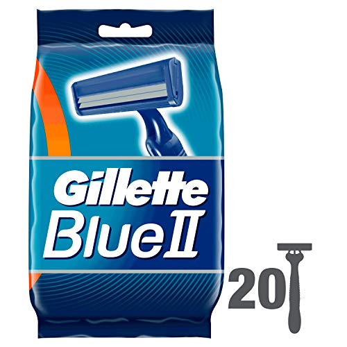 Gillette Blue II Einwegrasierer, 20Rasierer - Rasierer Body Gillette
