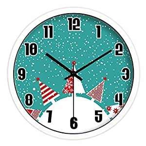 Edsh Wall Clock European Creative Personality Does Not Tick The Living Room Bedroom Furniture