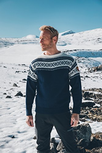 Dale of Norway Herren Cortina 1956 Sweater Light Charcoal/Off White