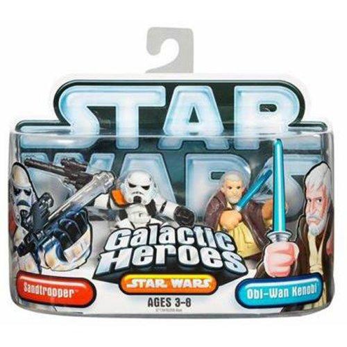 Hasbro Star Wars Galactic Hero Sandtrooper & Ben Kenobi