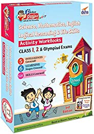 Perfect Genius Junior Activity Workbooks for Science, Mathematics, English, Logical Reasoning & Life Skill