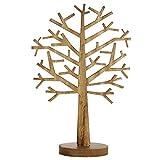 Deko-Baum aus Holz, 47 cm hoch, braun