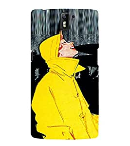 EPICCASE Fun In Rain Mobile Back Case Cover For OnePlus One (Designer Case)