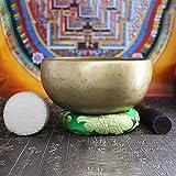 irugh Schüssel nepalesischen handgemachte Musik Klangschale Himalaya Gesang Schüssel-indische Yoga-Klangtherapie Schüssel Therapie tibetische Gesang L 18CM