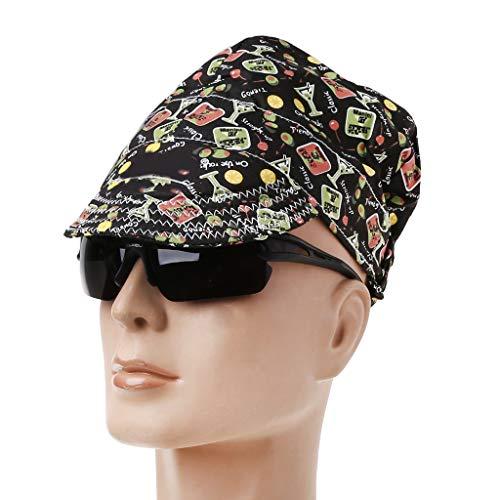zrshygs Cotton Fancy Welding Hat Sweat Absorption Cap Welding Safety Protection Supplies - Pleasure -
