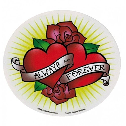 hotrodspirit-sticker-always-and-forever-roses-coeur-tattoo-autocollant