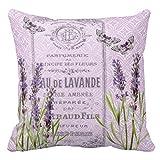 Dutars Lavendel Blumen Französische Parfüm collag Home Decor Kissenbezug Werfen Kissenbezüge...