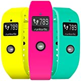 runtastic Orbit Bracelets de Rechange Color Set 3 (Rose Fluo, Jaune néon, Vert)